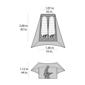 MSR FlyLite Tent blue